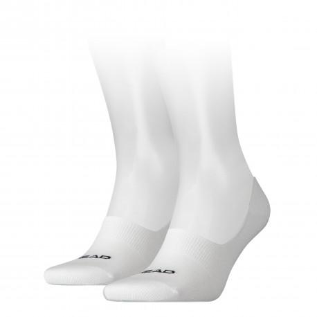 HEAD Footie socks white (2 pairs)