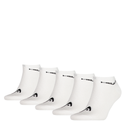 HEAD Sneaker socks white (5 pairs)