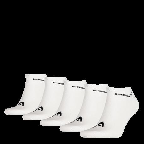 HEAD Sneaker socks white (5 pairs)