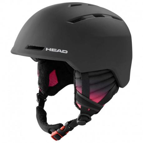 HEAD Ski Helmet Valery black (2021)