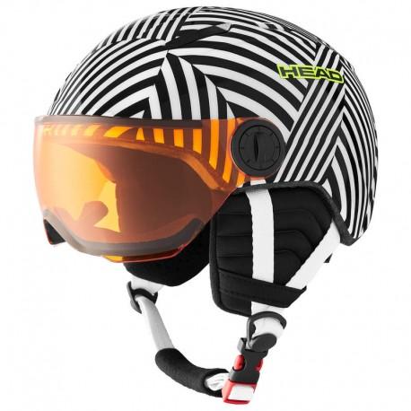 HEAD Ski Helmet Mojo Visor razzle (2021)