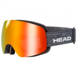 HEAD Ski Goggles Globe FMR yellow/red (2021)