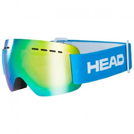 HEAD Ski Goggles Solar Jr FMR blue  (2021)