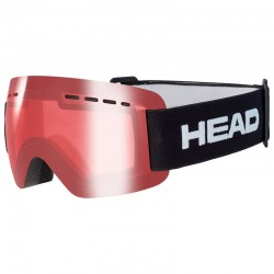 HEAD Ski Goggles Solar Jr red (2021)