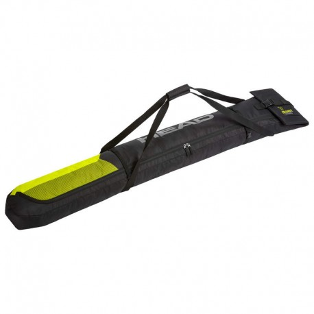 HEAD Single Skibag black/yellow (2021)