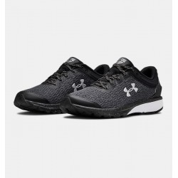 Women's UA Charged Escape 3 Reflect Running Shoes black/white