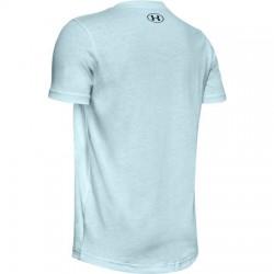 Boys' UA Sportstyle Logo Short Sleeve rift blue