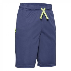 Boys' UA Prototype Wordmark Shorts blue ink