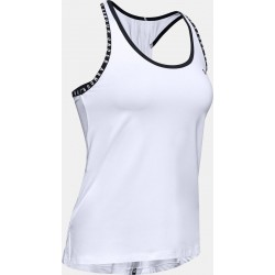 Women's UA Knockout Tank white