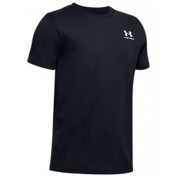 Boys' Under Armour Sportstyle Left Chest Short Sleeve black