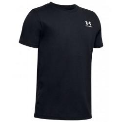 Boys' Under Armour Sportstyle Left Chest Short Sleeve black