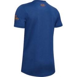 Under Armour Boys' SC30 HD Logo T-Shirt blue