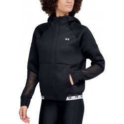 Women's UA /MOVE Mesh Inset Full Zip black