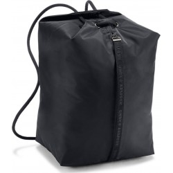 Women's UA Essentials Sackpack black