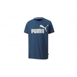 PUMA ESSENTIALS TEE dark denim