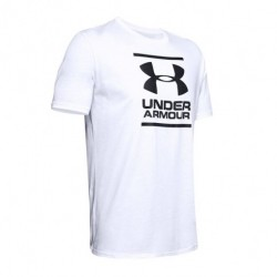 Men's UA GL Foundation Short Sleeve T-Shirt white