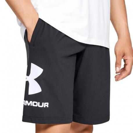 Men's Under Armour Sportstyle Cotton Graphic black