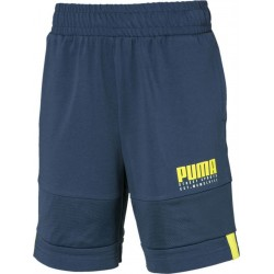 PUMA ALPHA JERSEY SHORTS blue