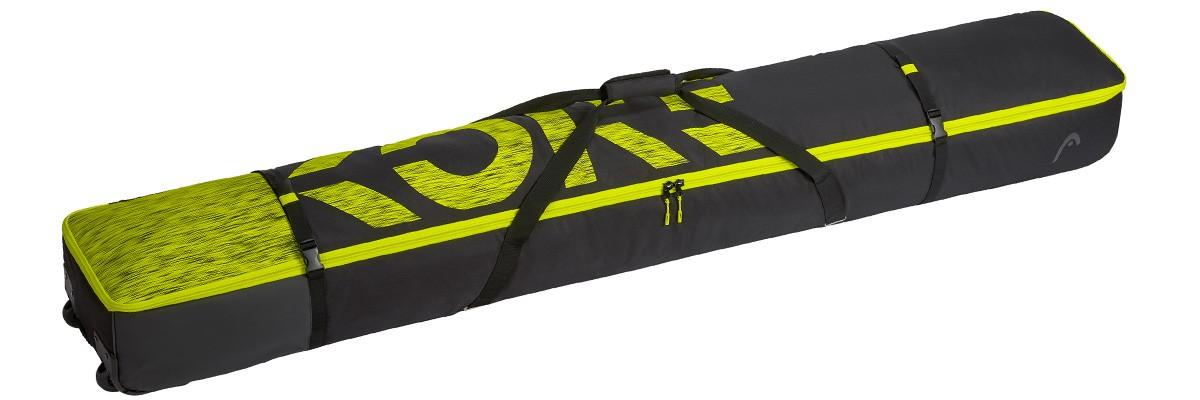 HEAD Freeride Double Skibag black/yellow (2021)