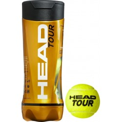 HEAD Tour Tennis Balls (3 balls), 570703