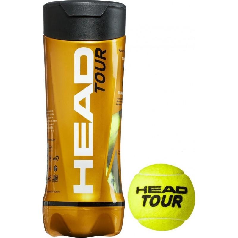 HEAD Tour Tennis Balls (3 τεμάχια), 570703