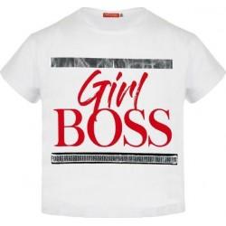 Girl's T-shirt white ENERGIERS 1, 16-220216-5