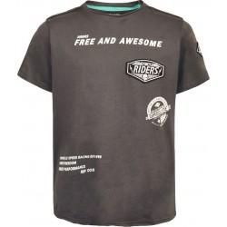 Kid's T-shirt dark grey...
