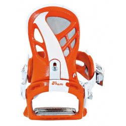 Women Snowboard Bindings HEAD  NX FIVE orange