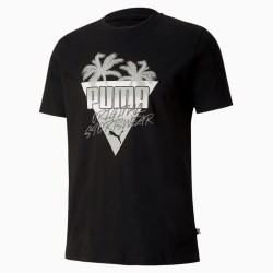 Puma Summer Palms Men's Graphic Tee black, 581917-01