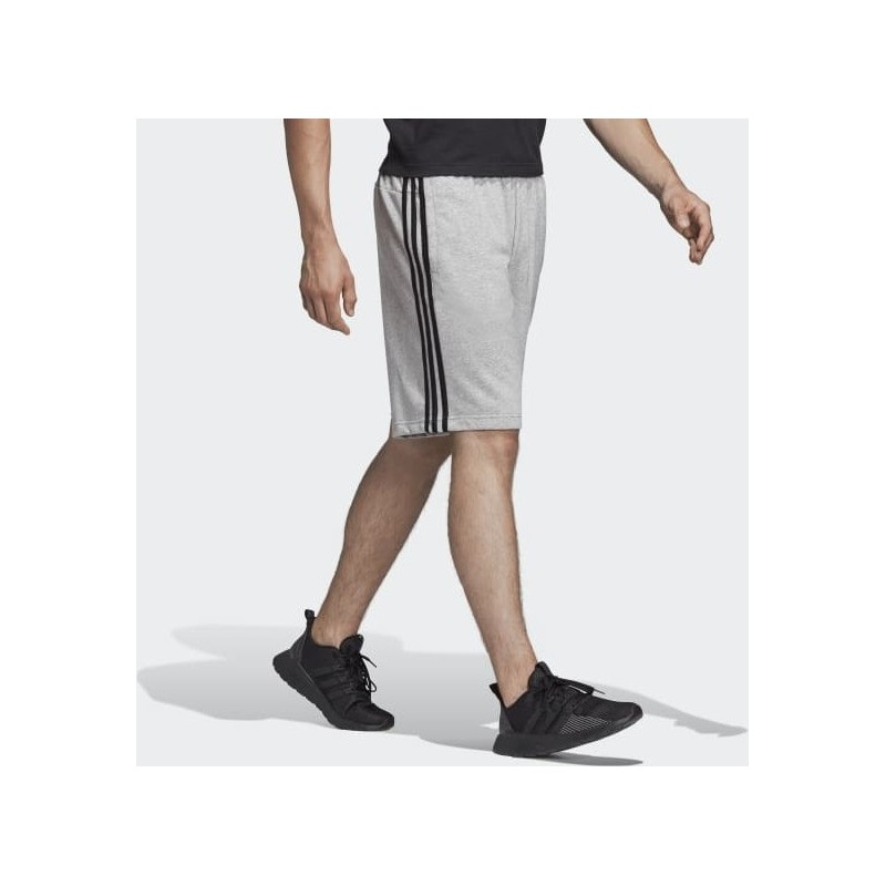 Adidas Essentials 3-Stripes French Terry Shorts MGREYH, DU7831