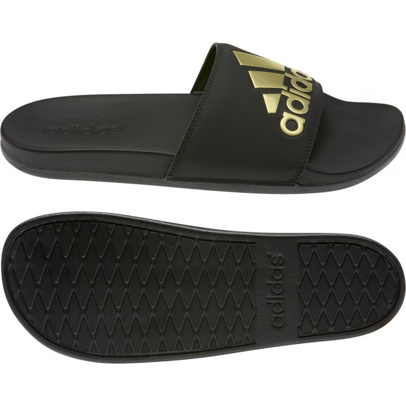 Adidas Adilette Comfort Black/gold, EG1850