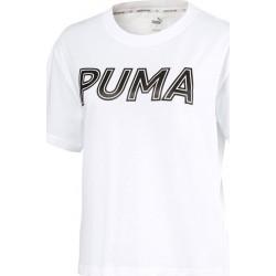 Puma Modern Sports Logo White